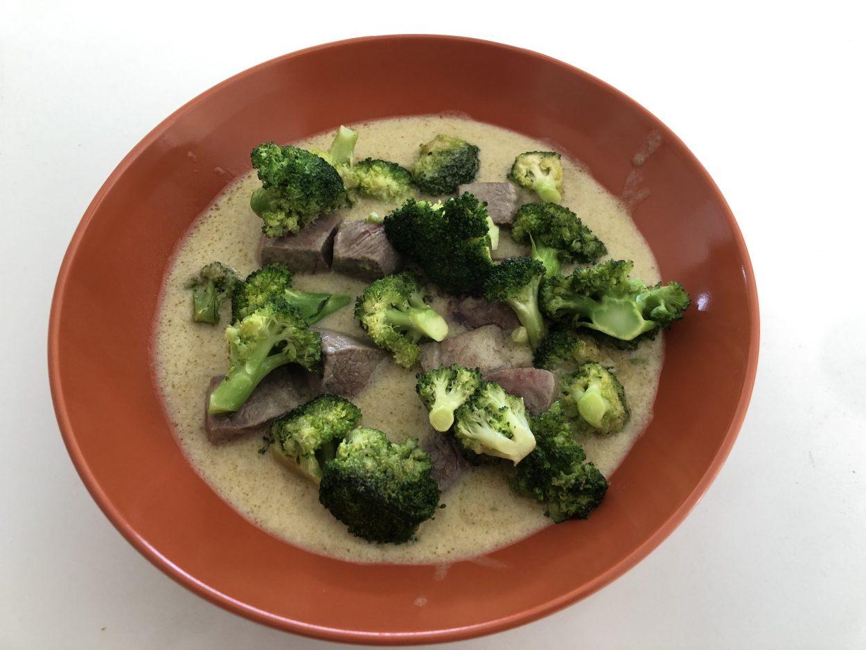 Broccoli met lamsvlees